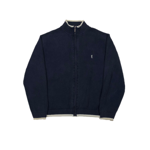 YSL full zip knit