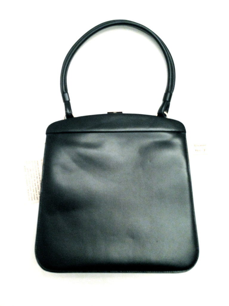 Dofan Paris Riveur No. 2 Vintage Black Leather Purse