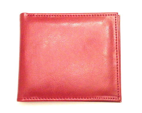 Mens Wallet - Brown Leather Wallet By Senate - On Sale $20