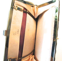 Load image into Gallery viewer, Vintage Gold Clutch Handbag Classic Style