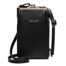 Load image into Gallery viewer, High Quality Phone Bag PU Leather Large Capacity Travel Portable Shoulder Bag Brand Ladies Crossbody Bag Fashion Messenger Bag
