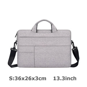 Waterproof Handbag Designer Women 14 15.6 inch Laptop Briefcase Business Handbag for Men Large Capacity Messenger Shoulder Bag
