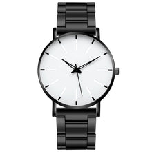 Load image into Gallery viewer, 2021 Minimalist Men's Fashion Ultra Thin Watches Simple Men Business Stainless Steel Mesh Belt Quartz Watch Relogio Masculino