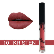 Load image into Gallery viewer, Lip Kit Matte Lip Kits - Liquid lipstick glitter Hot Sexy Colors waterproof Long Lasting matte Lip gloss pen Make up red with matte lip baton