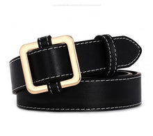 Load image into Gallery viewer, Women Belts - HOT Circle Pin Buckles Belt female deduction side gold buckle jeans wild belts for women fashion students simple casual trousers