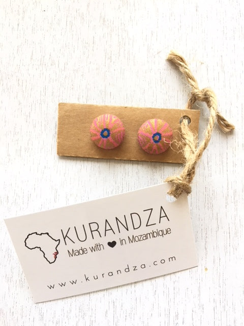 Capulana Earrings