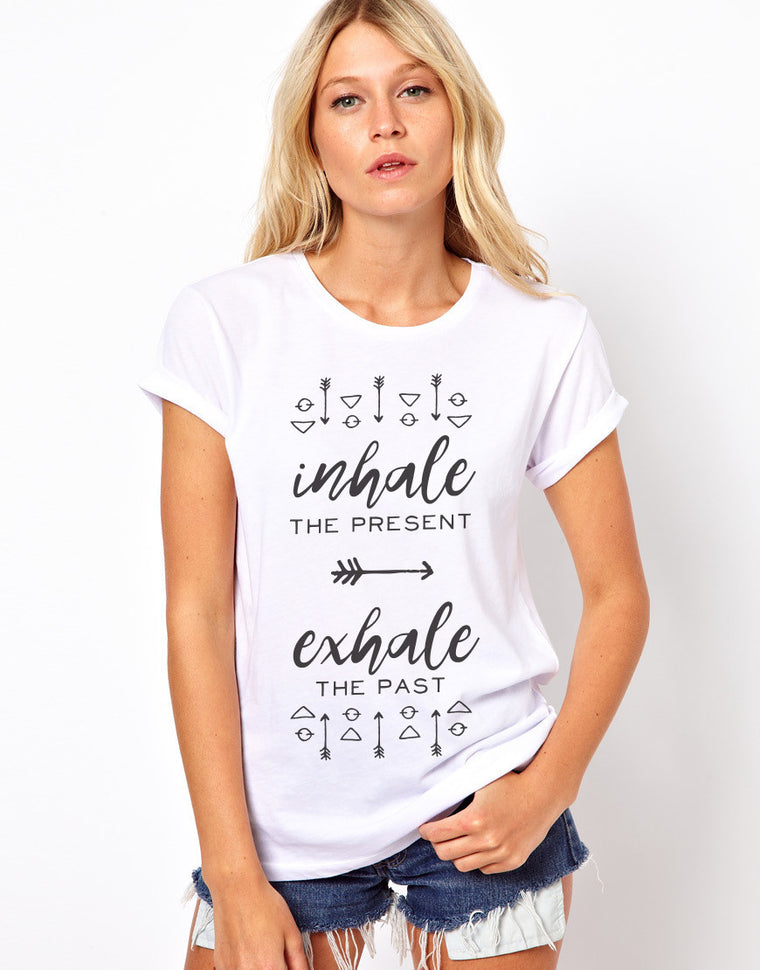 Inhale, Exhale T Shirt
