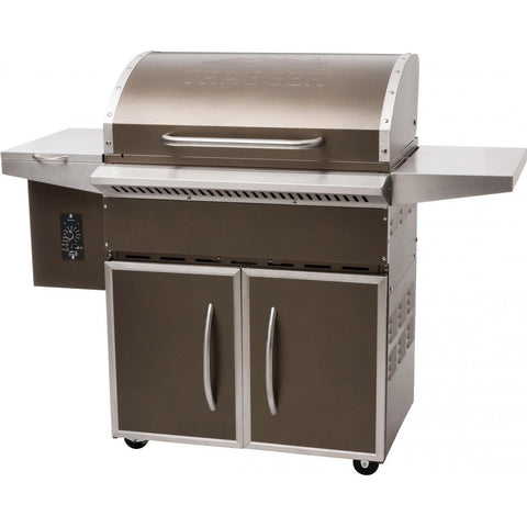 Traeger Select Pro Pellet Grill on Cart, Bronze