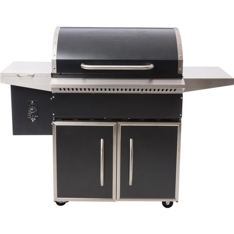Traeger Select Pro Pellet Grill on Cart, Gunmetal Blue