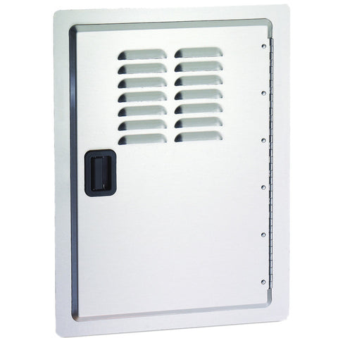 American Outdoor Grill 20 X 14 Stainless Single Access Door w/ Latch Handle, Tank Tray & Louvers