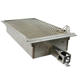 "24"" American Outdoor Grill L-Series On Cart Grill w/ Lights and Rotisserie, Liquid Propane"