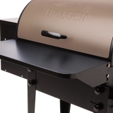 Traeger Tailgater Pro 20 on Cart, Bronze