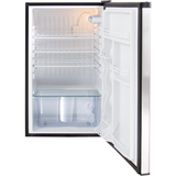 "Blaze 20"" 4.5 Cu. Ft. Compact Refrigerator With Recessed Handle, Stainless Steel"