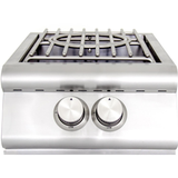 Blaze High Performance Power Burner w/ Wok Ring & Stainless Steel Lid, Natural Gas
