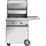 "30"" DCS Freestanding Grill on CSS Cart, Natural Gas"