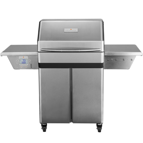 Memphis Pro Freestanding Pellet Grill on Cart w/ WiFi, 304 Stainless Steel