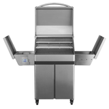 Memphis Pro Freestanding Pellet Grill on Cart w/ WiFi, 430 Stainless Steel