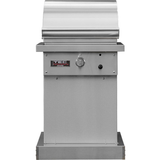 "TEC 26"" Sterling Patio FR Freestanding Infrared Gas Grill on Stainless Pedestal, Natural Gas"