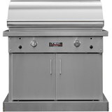 "TEC 44"" Sterling Patio FR Freestanding Infrared Gas Grill on Stainless Cabinet, Natural Gas"