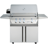 "36"" Twin Eagles Freestanding Gas Grill w/ Infrared Rotisserie on Double Door Cart, Natural Gas"