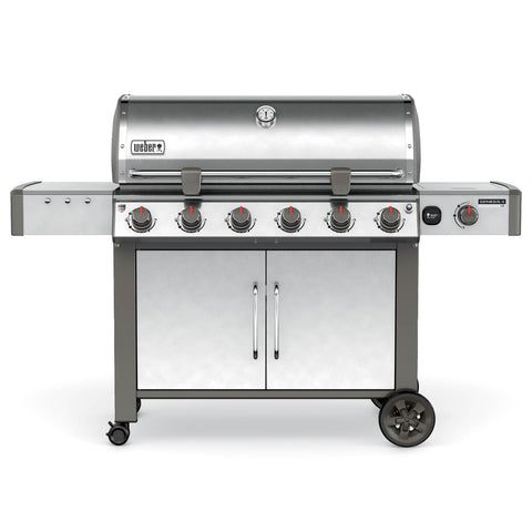 Weber Genesis II LX S-640 Freestanding Gas Grill, Natural Gas