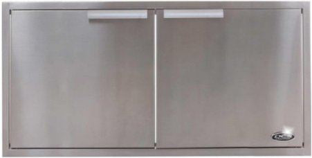 dcs 36 inch built in stainless steel access doors