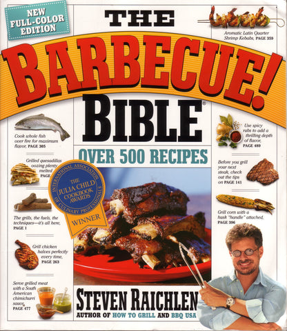 The BBQ Bible by Steven Raichlen