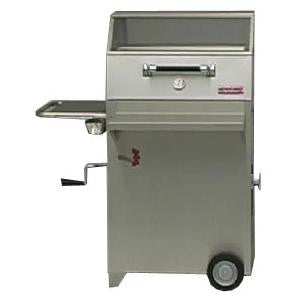 Hasty-Bake Continental Stainless Steel Charcoal Grill