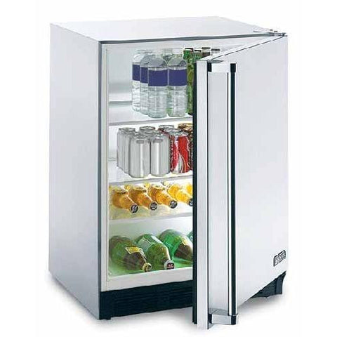 Lynx 5.5 Cu. Ft. Capacity Compact Refrigerator - Stainless Steel