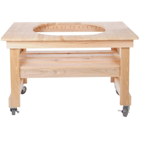 Primo Compact Cypress Table For XL Oval - (4-Wheels)
