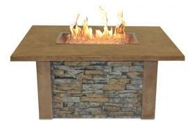 The Outdoor GreatRoom Company Sierra Fire Pit Table