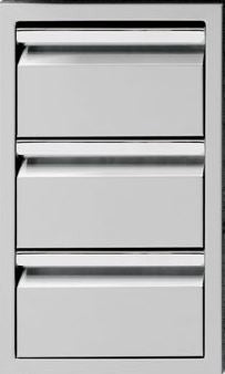 Twin Eagles 19in Triple Storage Drawer
