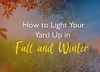 How to Light Your Yard Up in Fall and Winter