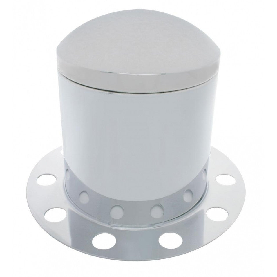 Dome Rear Axle Cover 3 Piece Kit - Steel/Aluminum Wheel