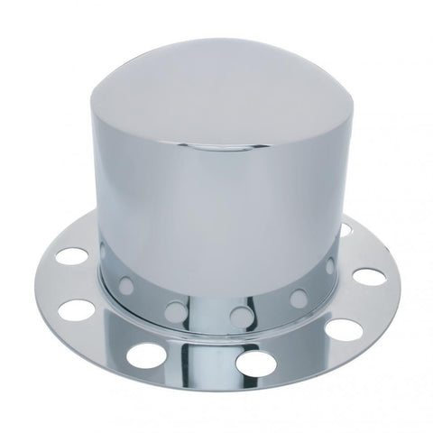 Dome Rear Axle Cover 2 Piece Kit - Steel/Aluminum Wheel