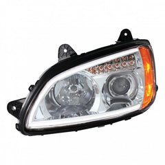 Chrome Kenworth T660 Projection Headlight Assembly - Passenger