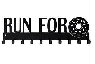 Run for Donuts Medal Hanger