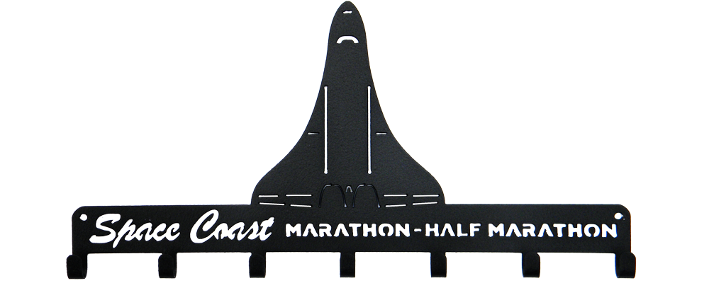 Space Coast Marathon / Half Marathon - Medal Holder