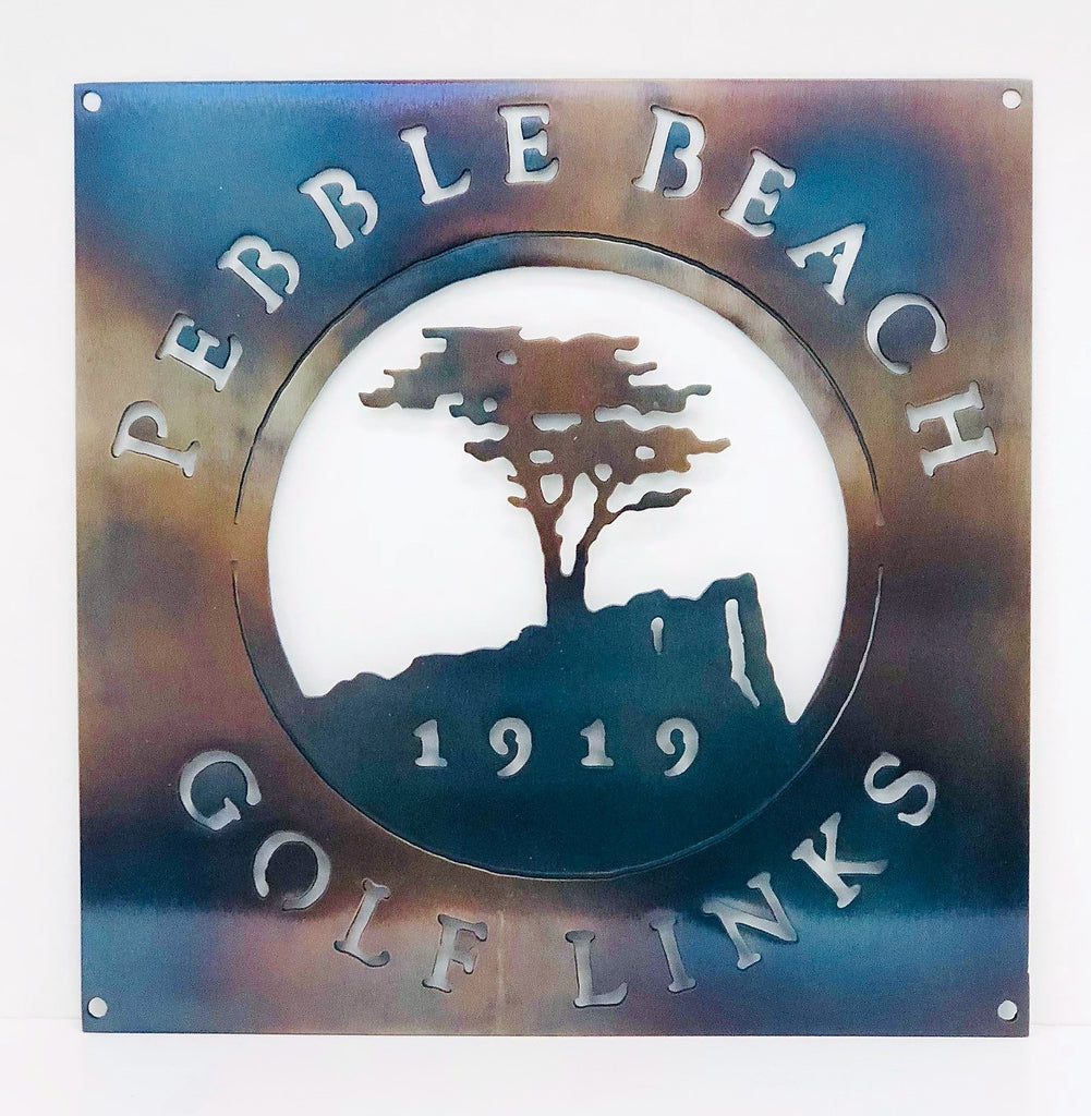 Pebble Beach Karma Golf Logo Example