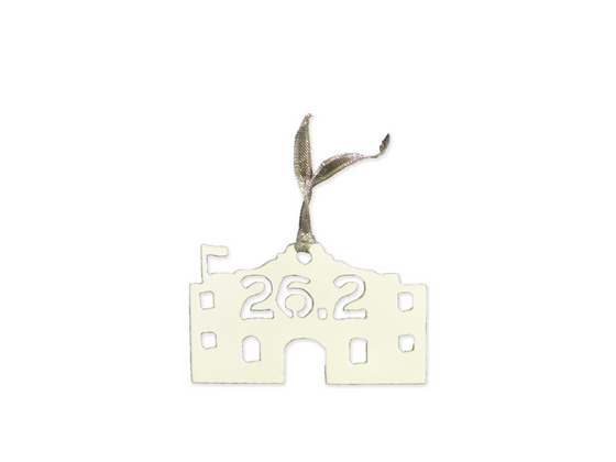 26.2 San Antonio, Texas Alamo Ornament