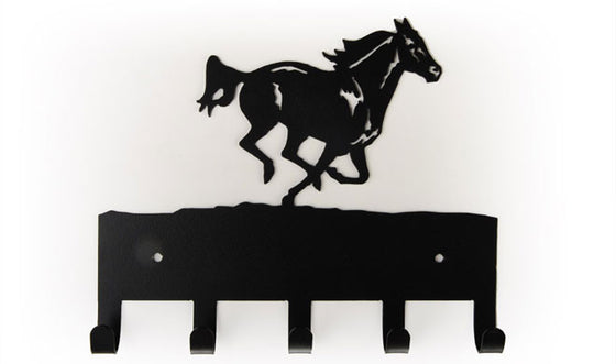 Equestrian Horse Running 5 Hook Medal Display Hanger