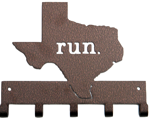 Run Texas - Bronze Medal Hanger