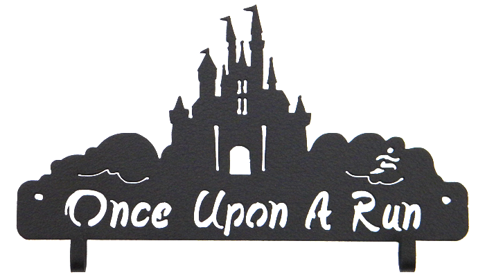 Disney Once Upon a Run runDisney Race Bib Holder Black