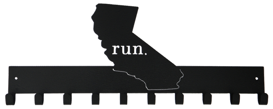 Run California - Medal Hanger