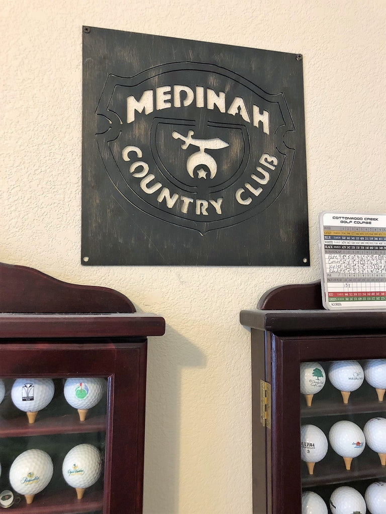 Medinah Golf Logo Example Staged