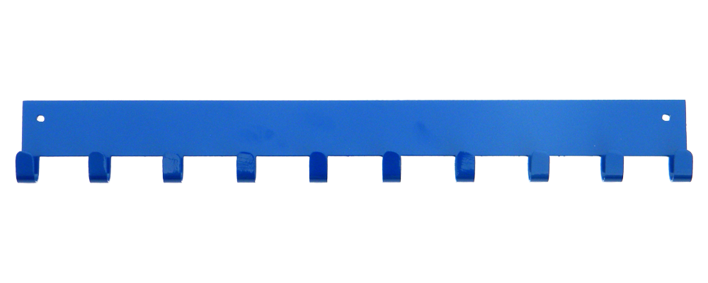 3rd Row Add-on Bar Blue 10 Hook Medal Display Hanger