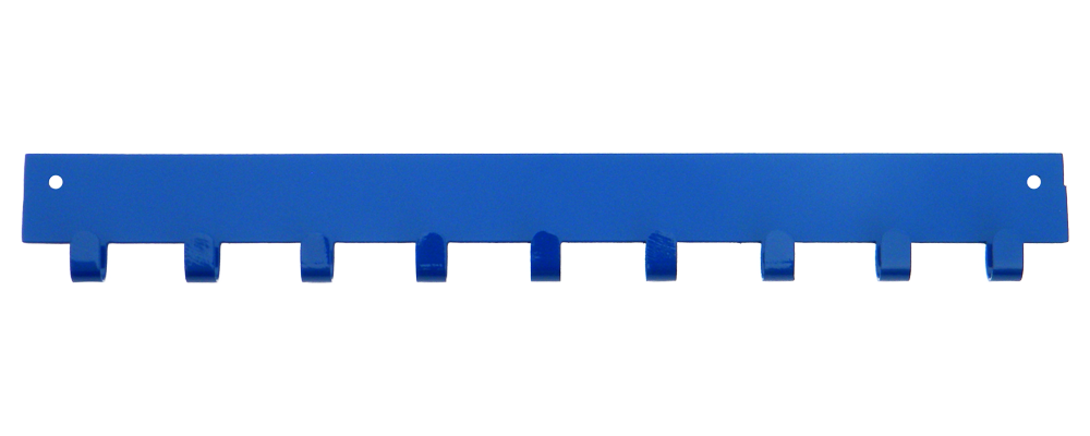 2nd Row Add-on Bar Blue 10 Hook Medal Display Hanger