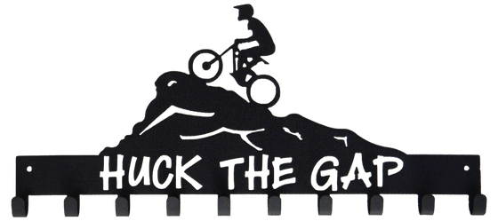 Huck the Gap Mountain Bike Medal Display