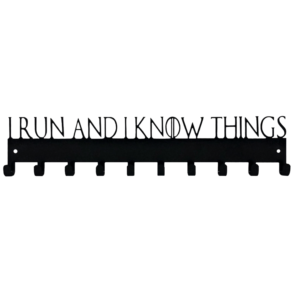 I Run and I Know Things Game of Thrones Medal Display