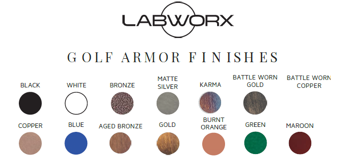 Labworx Golf Armor Finishes